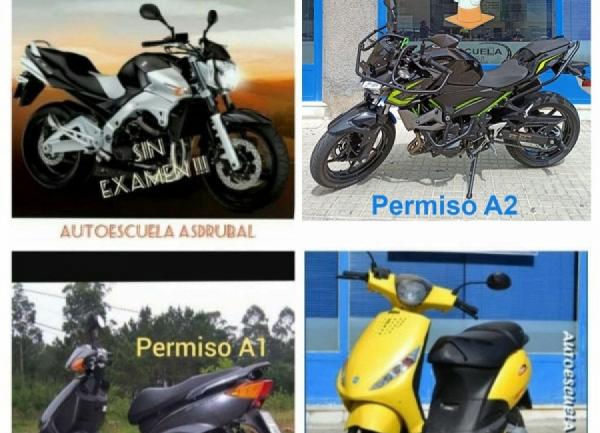 Permiso de Moto A  ¡¡ Nueva Oferta  !!